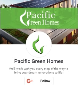 Pacific Green Homes Inc. on Google