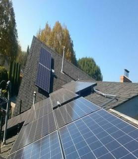 Image of Solar installation at Whittier